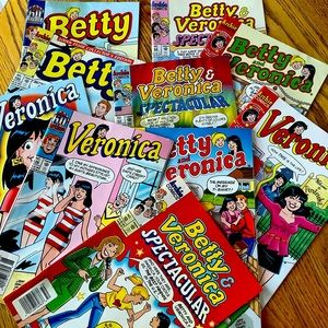 💜3/$30 Archie Comics 10 Betty and Veronica $10 AD